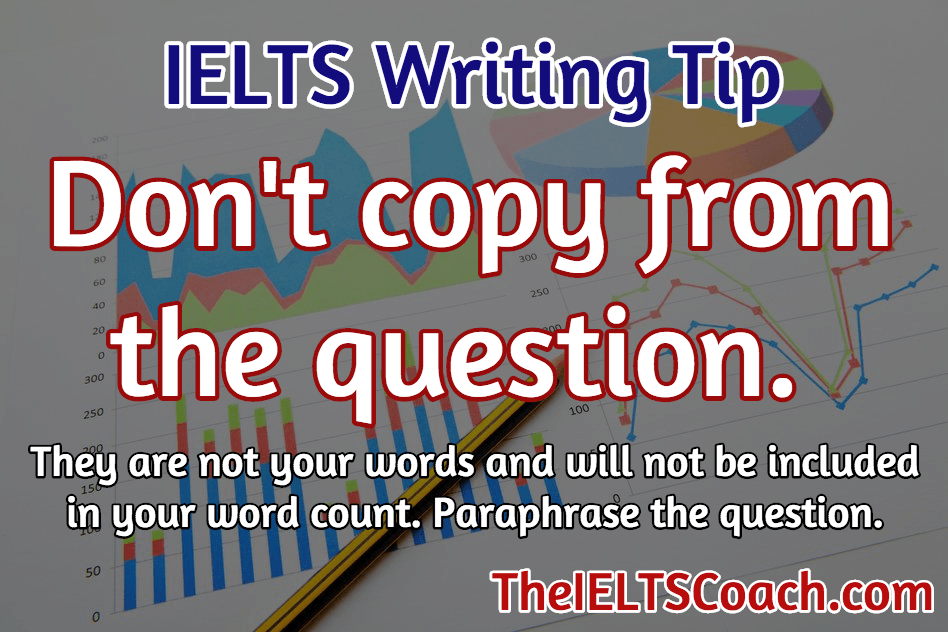 Tip for writing ielts essay