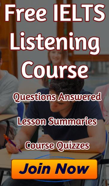 Free IELTS Listening Course